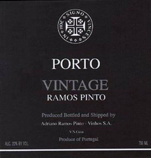 Ramos-Pinto Vintage Port 2004 Rated 88