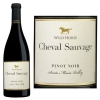 Wild Horse Cheval Sauvage Santa Maria Pinot Noir 2012 Rated 90WE