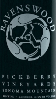 Ravenswood Pickberry Sonoma Mts. Red Blend 2011