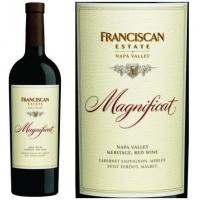 12 Bottle Case Franciscan Estate Magnificat Napa Meritage 2014 Rated 96TP