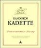 Kanonkop Stellenbosch Kadette 2018 (South Africa)