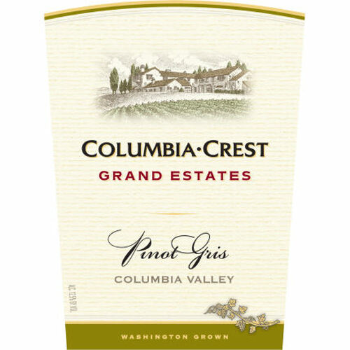 Columbia Crest Grand Estates Pinot Gris Washington 2014