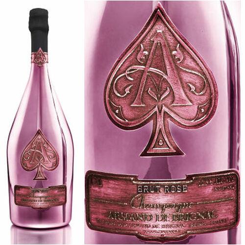 Armand de Brignac Brut Rose Champagne NV 1.5L Rated 91W&S