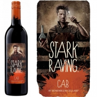 12 Bottle Case Rosenblum Cellars Stark Raving Cabernet NV