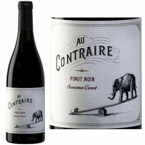 Au Contraire Sonoma Coast Pinot Noir 2017