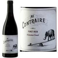 Au Contraire Sonoma Coast Pinot Noir 2013 Rated 90WE