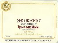 Rocca Delle Macie Ser Gioveto 2006 Rated 90WE