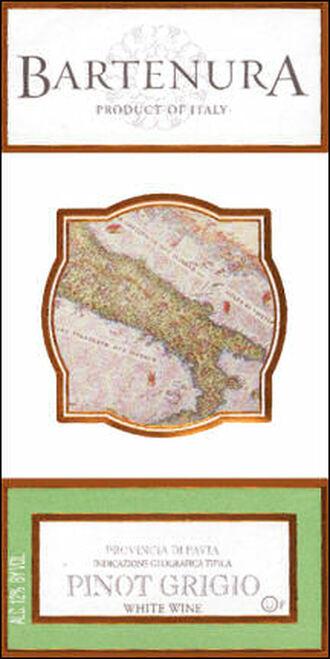 Bartenura Provincia di Pavia Pinot Grigio IGT 2013 Kosher (Italy)