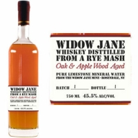 Widow Jane Oak & Applewood Aged Rye Mash Whiskey 750ml