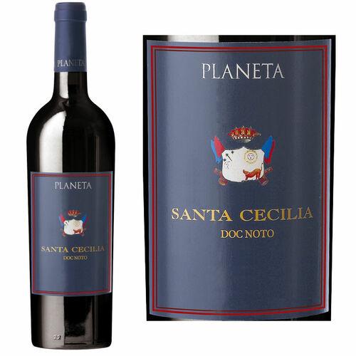 12 Bottle Case Planeta Santa Cecilia Noto Nero d'Avola DOC 2016 Rated 94WA