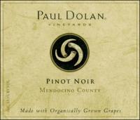 Paul Dolan Mendocino Pinot Noir Organic 2014