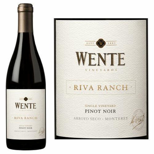 12 Bottle Case Wente Riva Ranch Arroyo Seco Pinot Noir 2013