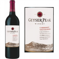12 Bottle Case Geyser Peak California Cabernet 2014