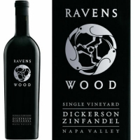 12 Bottle Case Ravenswood Dickerson Vineyard Napa Zinfandel 2013 Rated 91W&S