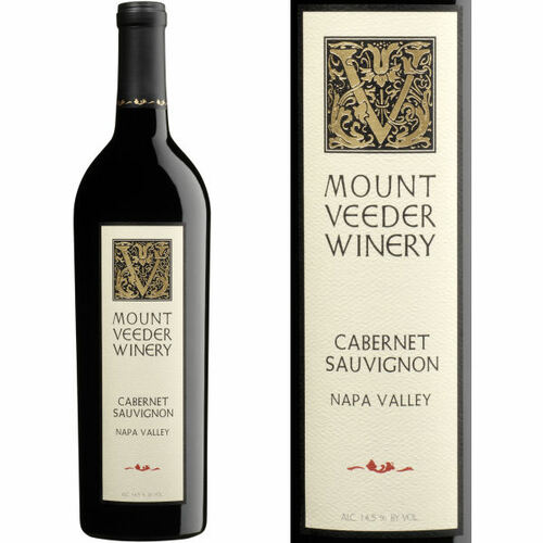 Mount Veeder Winery Napa Cabernet 2018 Rated 95JS