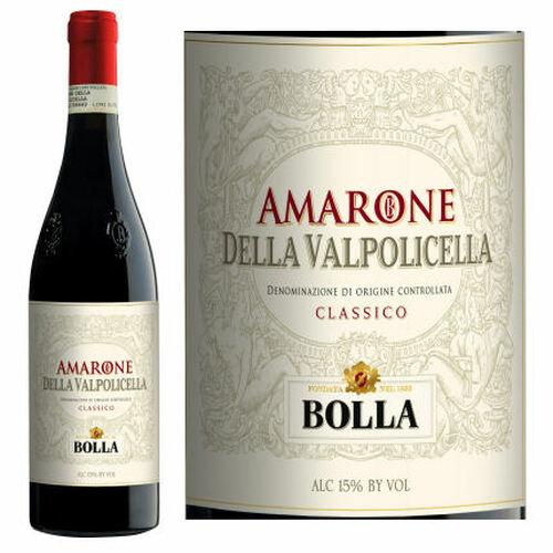 12 Bottle Case Bolla Amarone della Valpolicella Classico DOCG 2014 (Italy)