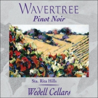 Wedell Cellars Wavertree Sta. Rita Hills Pinot Noir 2012