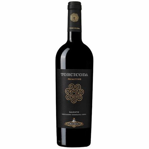 12 Bottle Case Tormaresca Torcicoda Primitivo Salento 2017 Rated 92JS