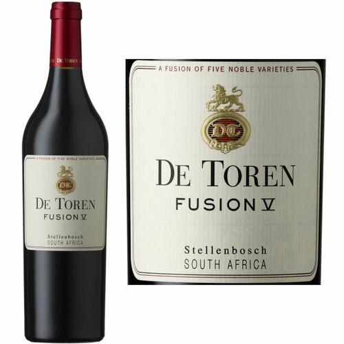 De Toren Stellenbosch Fusion V Red Blend 2016 (South Africa) Rated 90WS