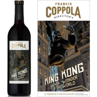 12 Bottle Case Francis Coppola Director's King Kong California Cabernet 2015