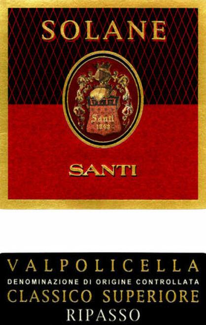 Santi Valpolicella Classico Superiore Solane 2016