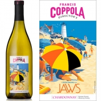 12 Bottle Case Francis Coppola Director's Jaws California Chardonnay 2015