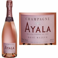 Champagne Ayala Rose Majeur Brut NV Rated 90WS