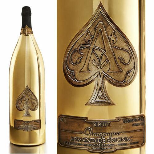 Armand de Brignac Brut Gold Champagne NV 3L Rated 94W&S