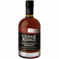 Cedar Ridge Single Malt Whiskey 750ml