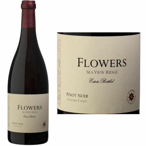 Flowers Sea View Ridge Vineyard Pinot Noir 2016 Rated 94WE