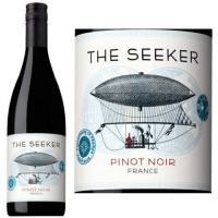 12 Bottle Case The Seeker Vin de Pays Pinot Noir 2015 (France)