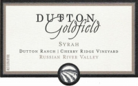 Dutton-Goldfield Cherry Ridge Syrah 2012 Rated 94WE EDITORS CHOICE