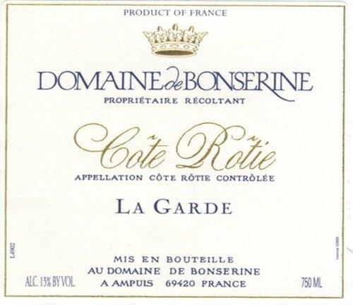 Domaine de Bonserine Cote-Rotie La Garde 2004