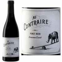 12 Bottle Case Au Contraire Sonoma Coast Pinot Noir 2017