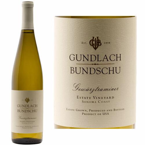 12 Bottle Case Gundlach Bundschu Sonoma Coast Gewurztraminer 2019