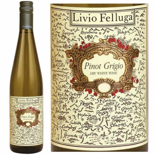 12 Bottle Case Livio Felluga Pinot Grigio DOC 2018