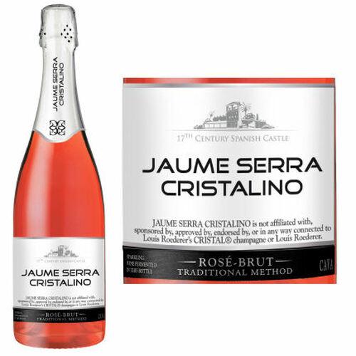 Jaume Serra Cristalino Brut Rose Cava NV Spain Rated 86
