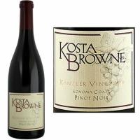 Kosta Browne Kanzler Vineyard Sonoma Coast Pinot Noir 2017 Rated 94WS