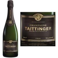 Champagne Taittinger Brut Millesime 2009 Rated 92WE