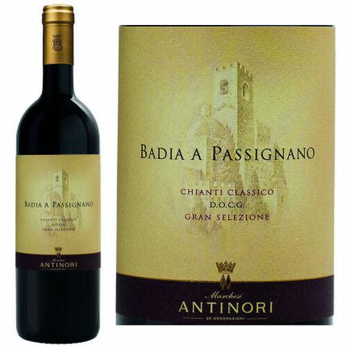 Antinori Badia a Passignano Chianti Classico Gran Selezione DOCG 2016 (Italy) Rated 96JS