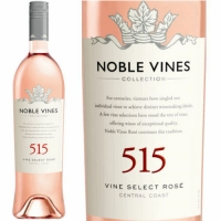 12 Bottle Case Noble Vines Collection 515 Central Coast Rose 2016