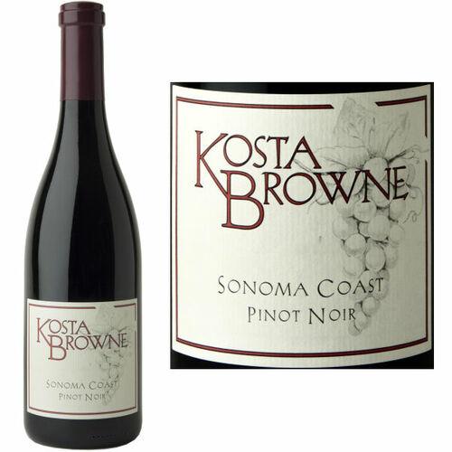Kosta Browne Sonoma Coast Pinot Noir 2018 Rated 93WA