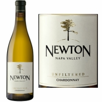 Newton Napa Unfiltered Chardonnay 2014 Rated 93WA