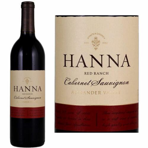 12 Bottle Case Hanna Red Ranch Alexander Cabernet 2016 Rated 90WE