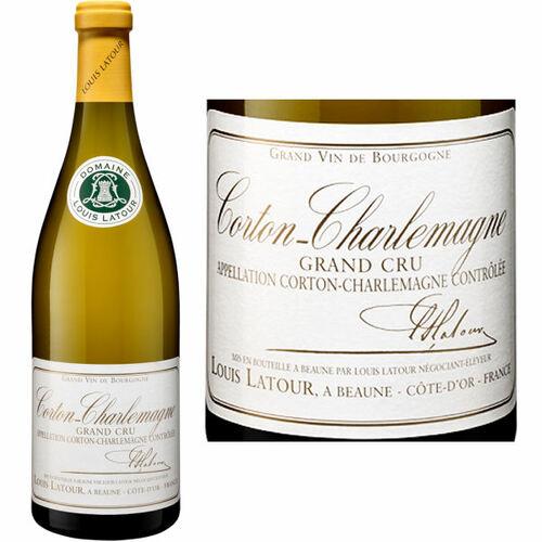 Louis Latour Corton-Charlemagne Grand Cru Chardonnay 2018 Rated 97JS