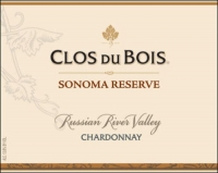 12 Bottle Case Clos Du Bois Russian River Reserve Chardonnay 2015