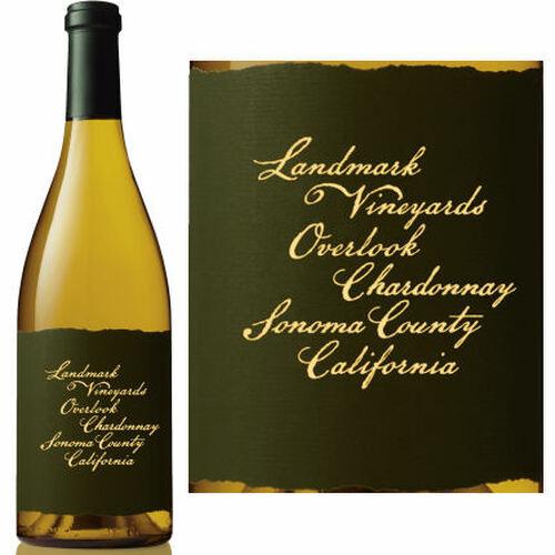 12 Bottle Case Landmark Overlook Sonoma Chardonnay 2018