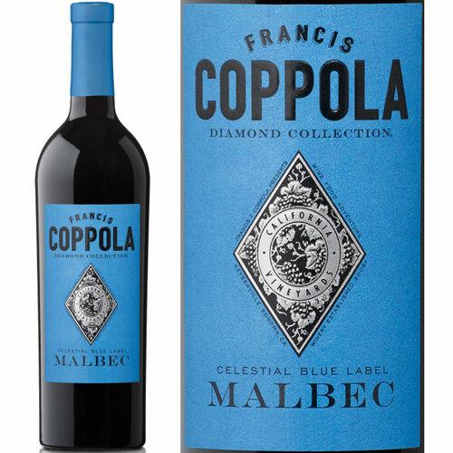 Francis Coppola Diamond Series Celestial Blue Label Malbec 2018