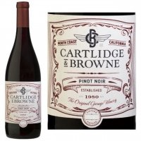 12 Bottle Case Cartlidge & Browne North Coast Pinot Noir 2014