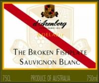 d'Arenberg The Broken Fishplate Sauvignon Blanc 2012 (Australia)